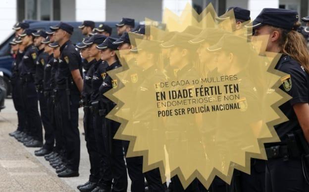 Policía NAcional e endometriose